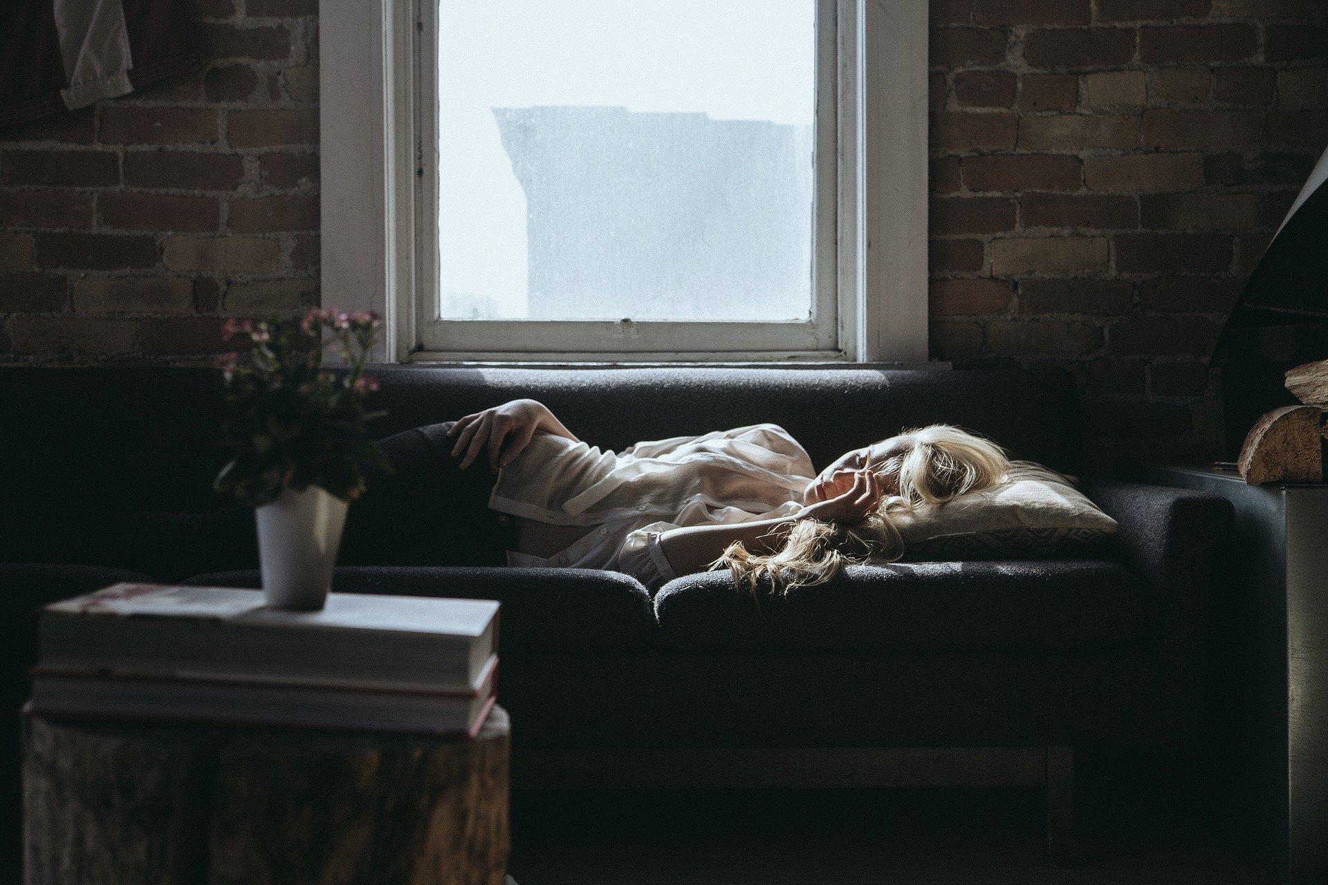 schlaf frau